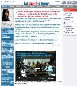www.estrellaiquique.cl inició una nueva etapa donde aumentó la actualización de noticias durante la jornada.
