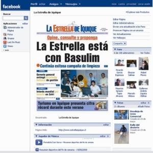 http://www.facebook.com/pages/La-Estrella-de-Iquique/16688096363
